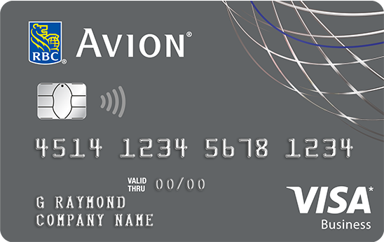 RBC Visa Business Platinum Avion credit card
