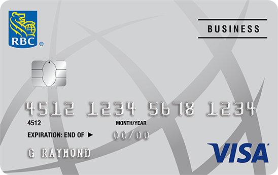 RBC Visa Business credit card
