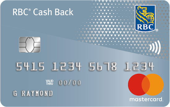 RBC Cash Back Mastercard credit card