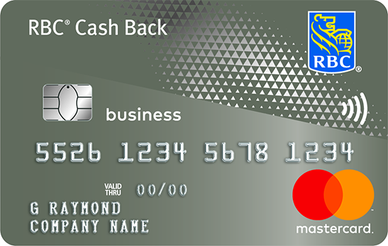 RBC Business Cash Back Mastercard credit card