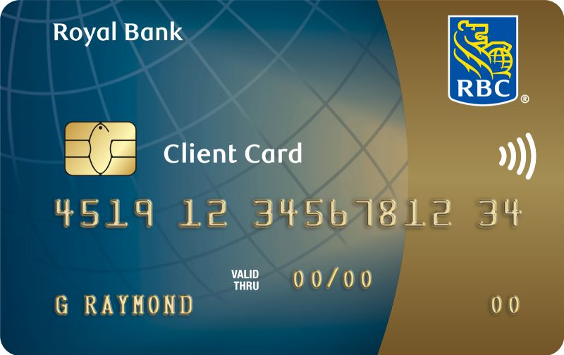 RBC Royal Bank Client Card