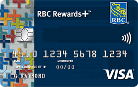 RBC Rewards Plus Visa credit card